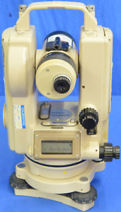 Pentax Th e20f Digital Electronic Theodolite Micrometer