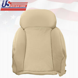 Fits 2007 Lexus Gs350 Driver Top Leanback Leather Seat Cover Oem Type Tan