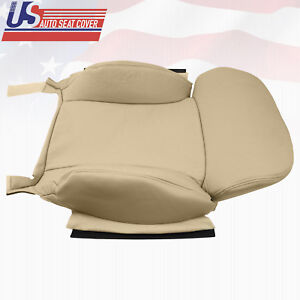 Passenger Top Tan Perforated Leather Cover For 2006 2011 Lexus Gs300 350 Sedan