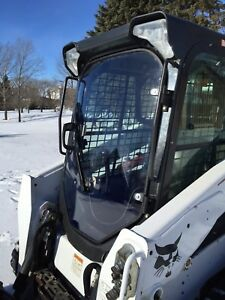 1 2 Lexan Bobcat New Style Saftey Door Lexan Skid Steer Loader