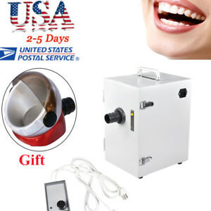 Dental Lab Equipment Digital Single row Dust Collector Vacuum Cleaner Oral Care