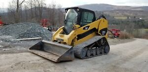 Cat 277c Track Skid Steer 2 Speed Xps High Flow Cab Heat A c Financing Avail