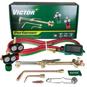 Victor 0384 2045 Performer 540 510 Edge Acetylene Cutting Torch Outfit