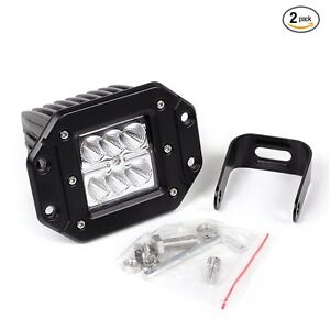 3 12v 24v 6500k Cree 12w Waterproof Led Lamp Round Offroad Car Boat Work Lights