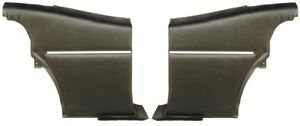 1968 1969 Camaro Coupe Deluxe Interior Pre Assembled Rear Side Panels Black
