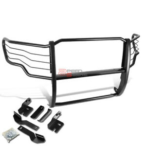 For 09 14 Ford F150 Pickup Truck Powder Coated Front Bumper Brush Grille Guard