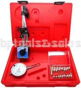 Magnetic Base With Dial Indicator Point Precision Inspection Set Measuring Kit