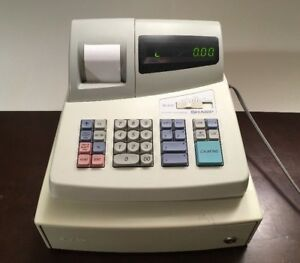Sharp Electronic Cash Register Model Xe a101 see Video