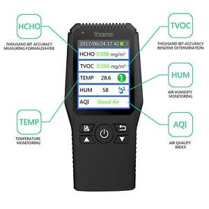 Formaldehyde Detector Test Data Logger For Indoor outside Detection Air Qual