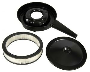 1969 Camaro Cowl Induction Air Cleaner With Black Lid