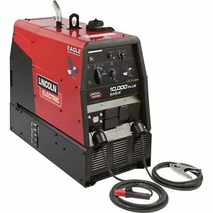 Lincoln Electric Eagle 10k Plus Dc Arc Welder ac Generator