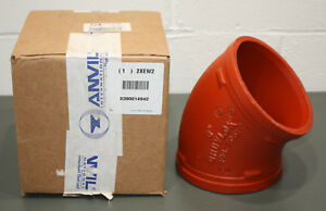 Gruvlok 0390014942 Elbow 45 Degrees 6 Ductile Iron Pipe 1000 Psi Grooved