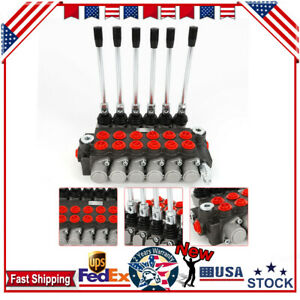 6 Spool Hydraulic Directional Control Valve Small Tractors tractors Loaders Use