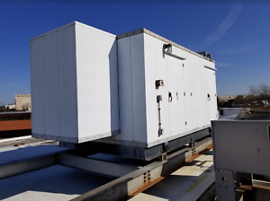 200kw Spectrum Detroit Diesel Enclosed Generator Set 540 Hours