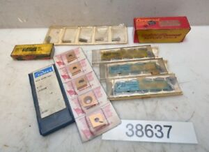 1 Assorted Lot Of Carbide Inserts inv 38637