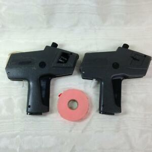 Two Monarch 1110 Price Gun Labelers One Works One For Parts