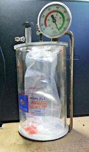 Rico On board Rs 4 Aspirator Vacuum Suction Canister Fixed Unit 1001 Ambulance