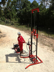Deeprock M 50 Prepper Water Well Drilling Rig