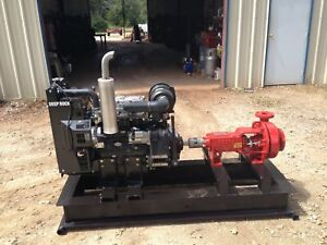 Deeprock Waterwell Mud Pump 2018 Model With Perkins Diesel Engine