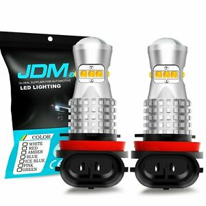 Jdm Astar 2x Universal High Power 27 Led White Daytime Running Light Lamp Kit