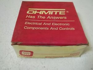 Lot Of 16 Ohmite B205300 Wirewound Resistor 20watts 300 Ohms new In Box