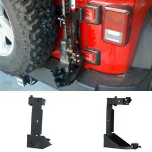 Jack Mount For Jeep Wrangler Jk Hood The Ultimate In Highlift Mount Accessories