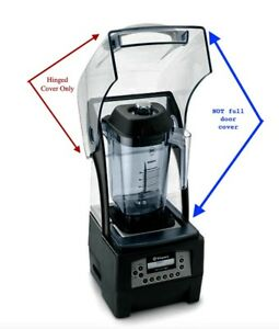 New Vitamix Clear Hinged Cover Replacement For Quiet One Commercial Blender