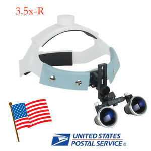 Dental Surgical Headband Medical Binocular Loupes Magnifier 3 5x r Comfortable