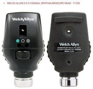 Welch Allyn 11720 3 5v Coaxial Ophthalmoscope