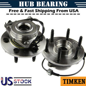 Timken Front Wheel Bearing And Hub Assembly For Chevrolet Gmc Escalade 4x4 4wd2x