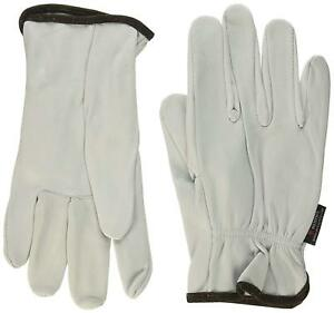 Memphis Premium 3601 Goatskin Unlined Driving work Gloves Xxxl White 12 Pack