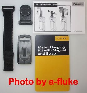 New Genuine 3 Piece Fluke Magnetic Hanger Kit 87v 88v 89 4 189 287 289 Exc Tpak