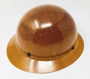Msa 475407 Natural Tan Skullgard Hard Hat no Suspension