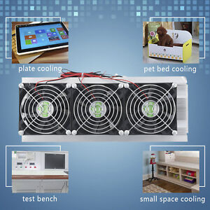 Thermoelectric Peltier Refrigeration Cooling System Semiconductor Cooler Module