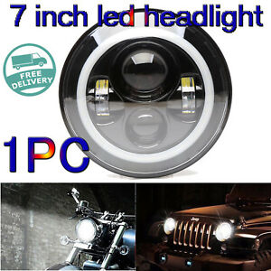 7 Inch Led Motorcycle Car Projector Daymaker Headlight For Harley Bad Boy Jeep
