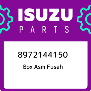 8972144150 Isuzu Box Asm Fuseh New Genuine Oem Part