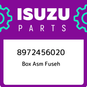 8972456020 Isuzu Box Asm Fuseh New Genuine Oem Part