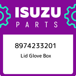 8974233201 Isuzu Lid Glove Box New Genuine Oem Part