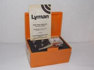 LYMAN  #7752313 SCALE WEIGHT CHECK SET