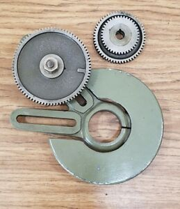 South Bend 9 Lathe Model A Banjo Bracket And 3 Gears