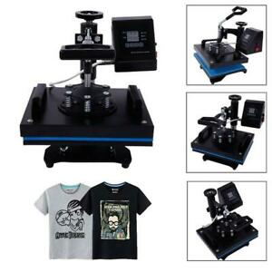 12 X 10 Digital Heat Press Machine For T shirts Garments Bags Mouse Mats