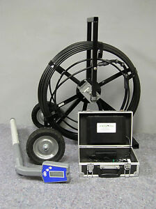 Battery Powered Ac Sewereye Sewer Camera Pipe Inspection System With Locator