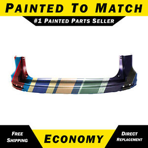 New Painted To Match Rear Upper Bumper Cover For 2010 2011 Honda Crv Cr v Suv