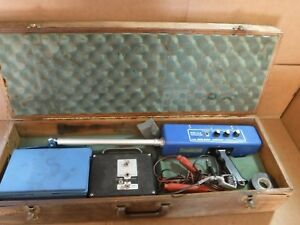 Goldak Model Pb 44 Pipe Locator reciever Detector With Case