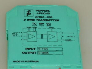 Pepperl fuchs Khd2 icd 2 Wire Transmitter used