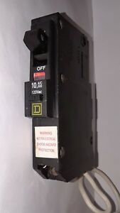 Square D Qo120epd Equipment Protection Breaker 1 Pole 20 Amp 120ac