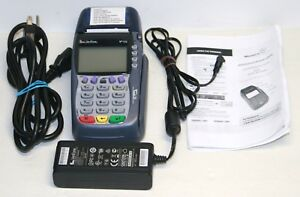 Used Verifone Vx570 Omni 5700 Credit Card Machine With Power Cord