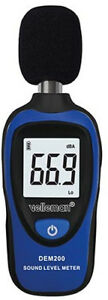 Velleman Dem200 Mini Digital Sound Level Meter