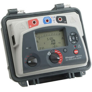 Megger Mit515 kit Mit515 With A Vf2 Voltage Detector Extra Long 16 5 Ft Leadset