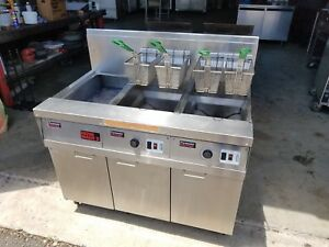 Frymaster Gas Fryers With Filter System